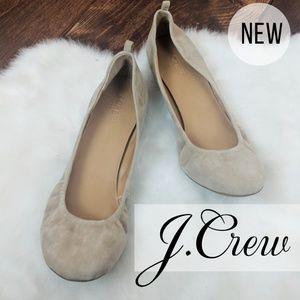 J. Crew • Tan Ballet Flats • New!